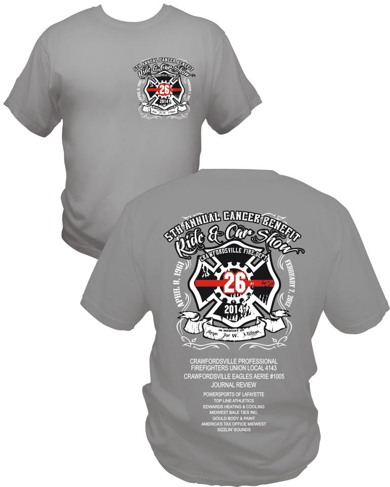 IAFF Local - Car show t shirts for sale